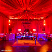 Forces of Nature | Rental Furniture | Draping | Red | Sealed With A Kiss | Pittsburgh | March 2016 | Bakery Square | The Prop Shop