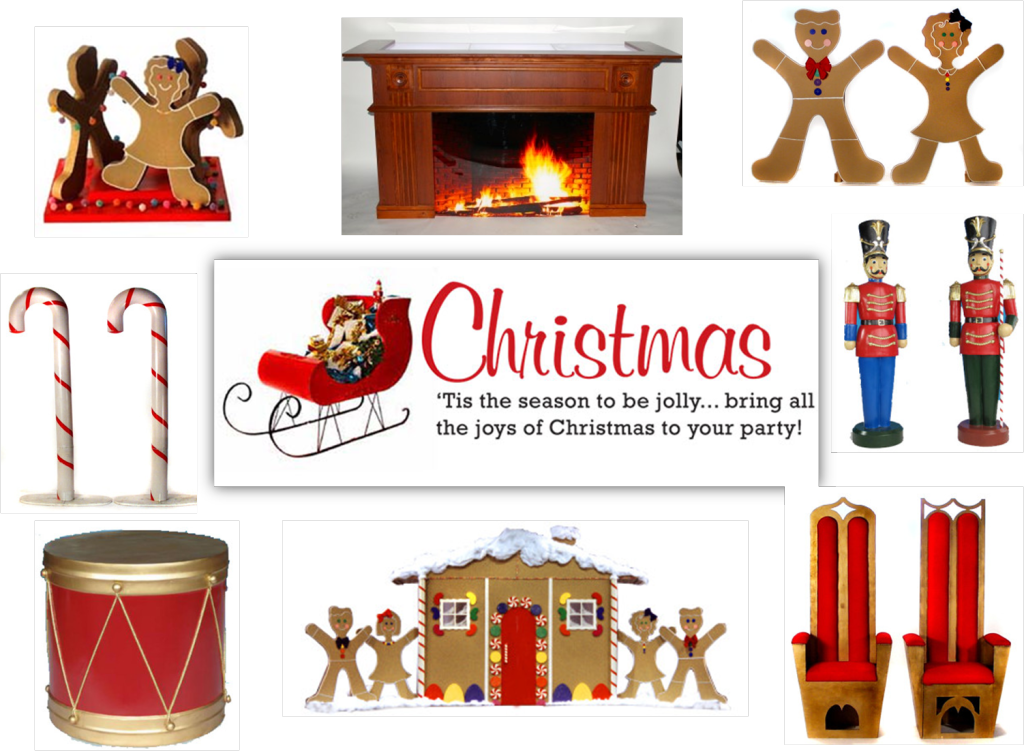 tps christmas props and decor for parties events and weddings