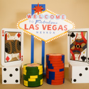 Las Vegas sign rental party prop | The Prop Shop, Pittsburgh decor and furniture rental