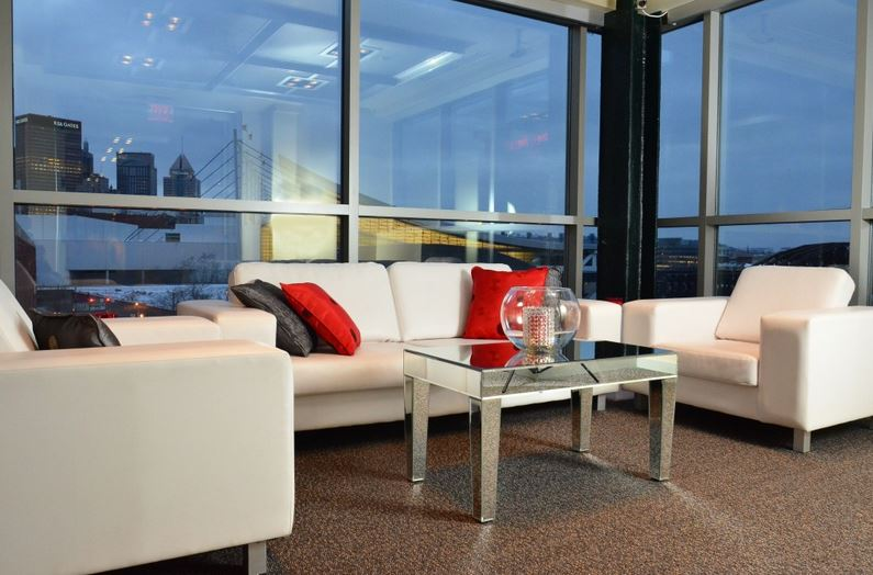 Couch sofa furniture rentals | The Prop Shop, Pittsburgh party and furniture rentals